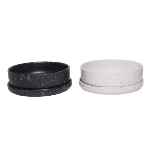 setจานชามเซรามิคลายหินอ่อน B00008